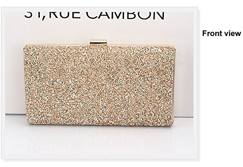 Woman Evening Bag Women Diamond Rhinestone Clutches Crystal Day Clutch Wallet/purse for Wedding Party Banquet Black/gold/silver