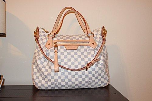 Authentic Louis Vuitton Evora Purse Bag Mm Azur