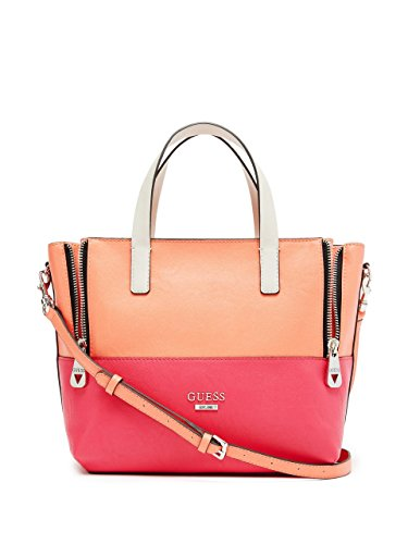GUESS Women's Doheny Color-Blocked Satchel