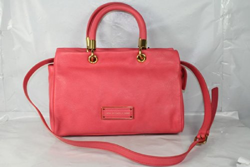 Marc Jacobs Too Hot To Handle Satchel in Bright Coral