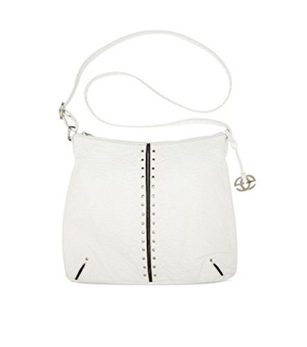 Red By Marc Ecko Pizzaz Sling Shoulder Bag Hobo Crossbody Bag Handbag White
