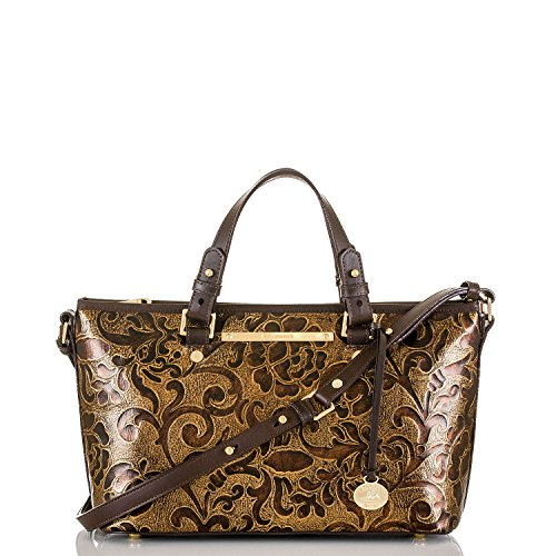 Brahmin Mini Gatsby Asher Tote in Bronze