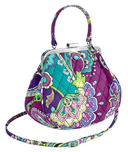 Gorgeous Vera Bradley Mini Frame Crossbody in Heather
