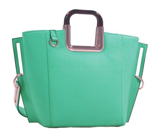 MyLux® Connection Shoulder Handbag K68037l (green373)