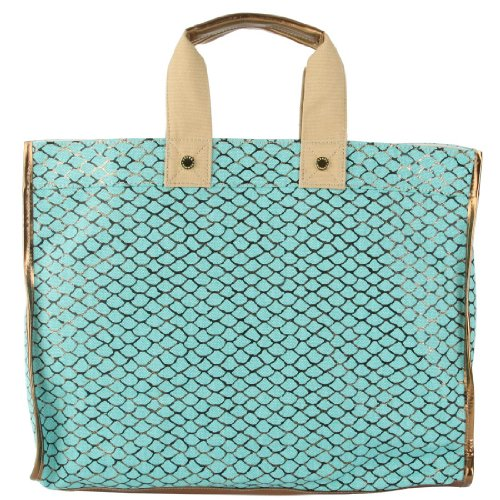 Steve Madden Bplaya Canvas Tote – Turquoise
