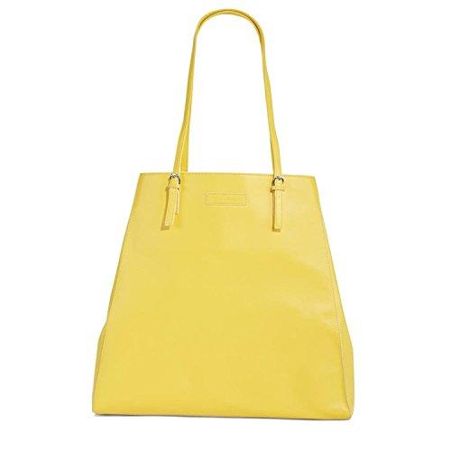 Vera Bradley Slim Buckle Tote in Yellow