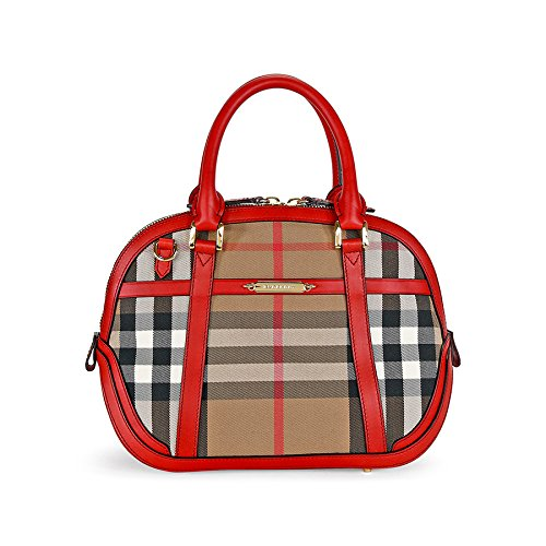 Burberry Small Orchard House Check Satchel