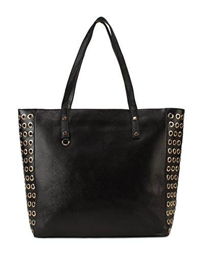 Scarleton Side Studded Tote Bag H1582