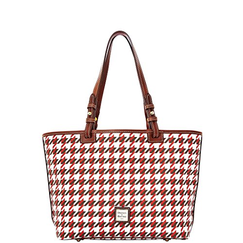 Dooney & Bourke Houndstooth Small Leisure Shopper