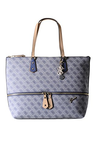 GUESS Women's Park Lane Quattro G Large Zip Tote