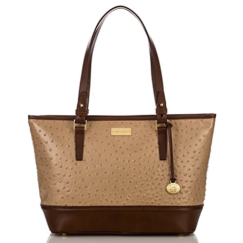 NEW AUTHENTIC BRAHMIN MEDIUM ASHER SHOULDER TOTE (Rose Gold Bennington)