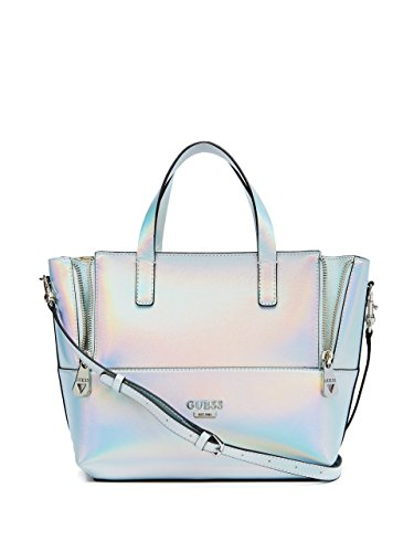GUESS Women's Doheny Metallic Satchel
