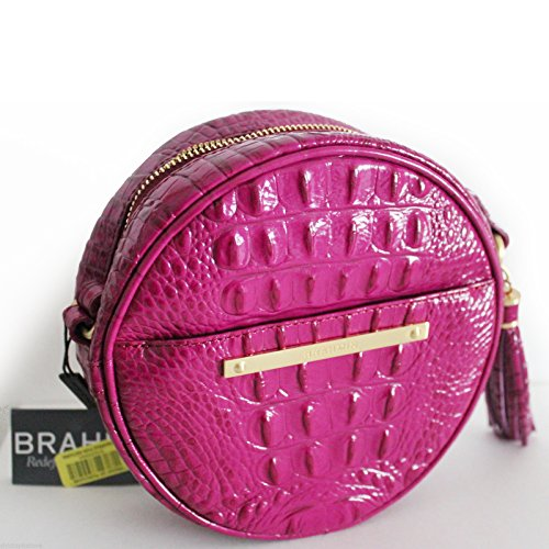 NEW AUTHENTIC BRAHMIN BELLE CANTEEN CROSSBODY SHOULDER BAG (Cassis Melbourne)
