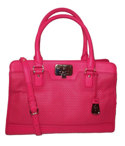 Cole Haan Vintage Valise Novelty Kendra E/W Tote, Punch Pink
