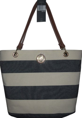 Tommy Hilfiger Handbag Tote Bag Canvas Navy XXL CLEARANCE