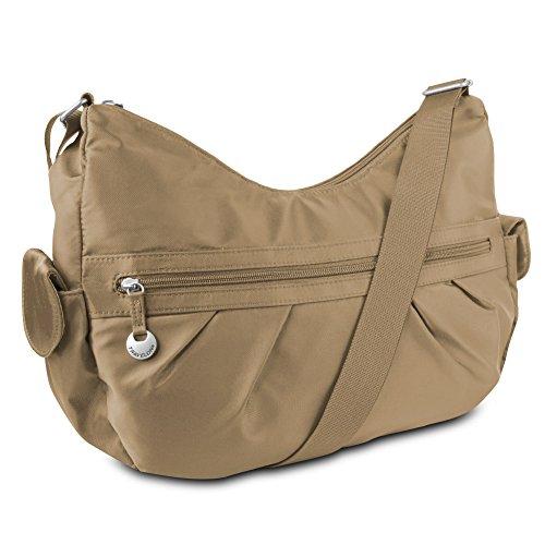 Travelon Shoulder Bag with Adjustable Strap – Exclusive (Camel)
