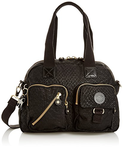 Kipling Defea Bag (Black Animal)