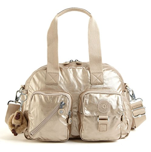 Kipling Defea Handbag Toasty Gold