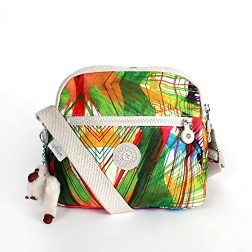 Kipling Keefe Print Shoulder Bag Crossbody Beachprint