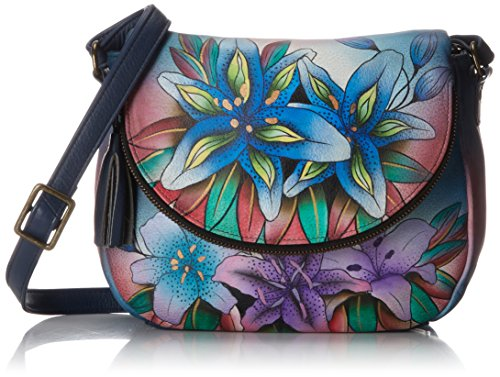 Anuschka Medium Flap Over Convertible Shoulder Bag