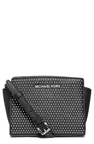 Michael Kors Michael Medium Selma Microstud Messenger Bag