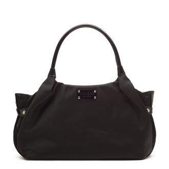 Kate Spade Nylon Stevie Handbag Bag Purse Tote Black
