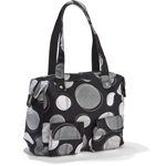 Thirty-one Casual Cargo Purse Black Happy Dots