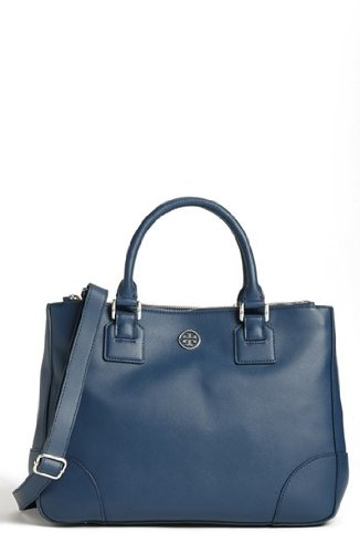 Tory Burch Robinson Double Zip Tote Large Night Sky 31139635