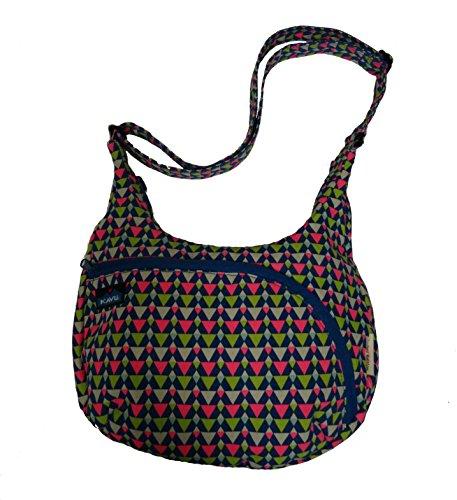 KAVU Women's Sydney Satchel Bag (Spring Triangle)