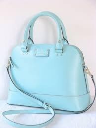 Kate Spade Small Rachelle Blue Wellesley Robinsegg Crossbody Handbag