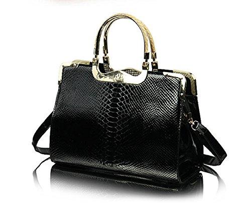 RW Collections Womens CASSIDY Designer Satchel Shoulder Bag Handbag