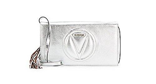 Valentino Lena Metallic Leather Cross-body Bag