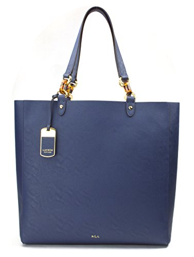 LAUREN Ralph Lauren Bembridge N/S Tote, Color Bright Navy