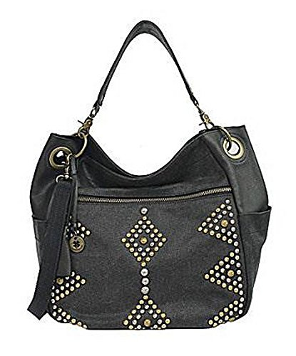 Lucky Brand Peyton Studded Canvas Bucket