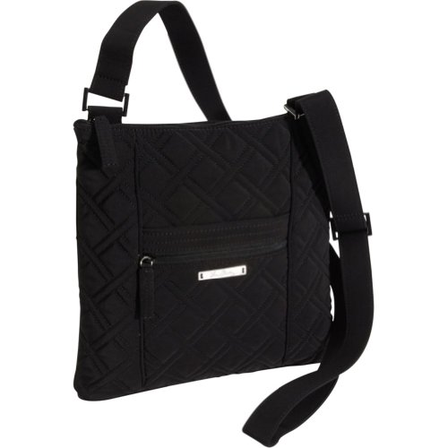 Vera Bradley Hipster Crossbody – Solids (Black)