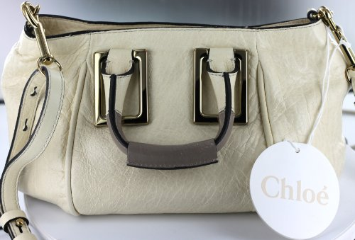 Chloe Handbags Ethel Small Satchel In Husky White 3S0646-7A733