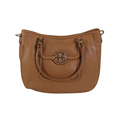 Tory Burch Amanda Classic Handle Hobo Aged Vachetta