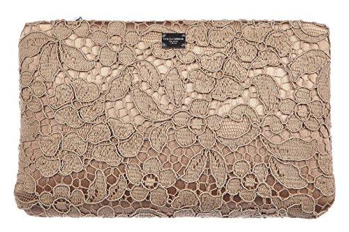 DOLCE&GABBANA women's clutch handbag bag purse audrey pink