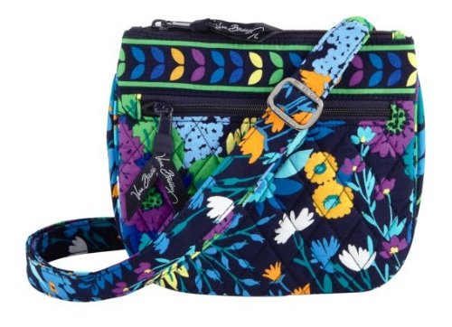 Vera Bradley Little Flap Hipster in Midnight Blues