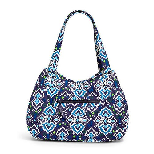 Vera Bradley Emily Satchel in Ink Blue, 13551-164