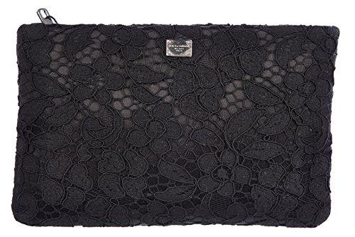 DOLCE&GABBANA women's clutch handbag bag purse audrey black