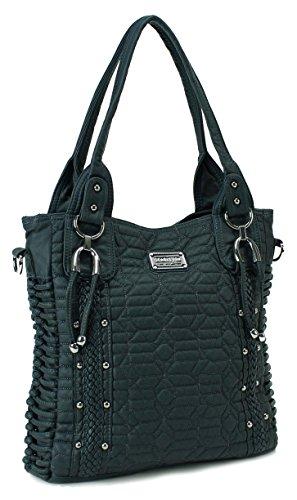 Scarleton Quilted Tote Bag H1370