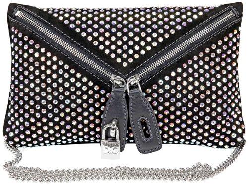 Dolce Gabbana Black Suede Clutch DB0954-E1392-80999