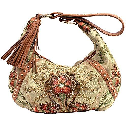 Mary Frances Sunburst Handbag
