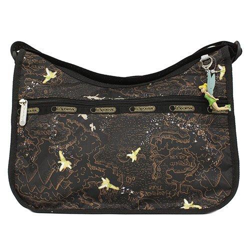 LeSportsac Classic Hobo Bag w Charm, Tink Neverland