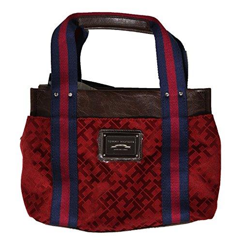 Tommy Hilfiger Small Iconic Purse Handbag Red