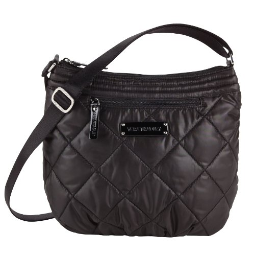 Vera Bradley Puffy Crossbody Black