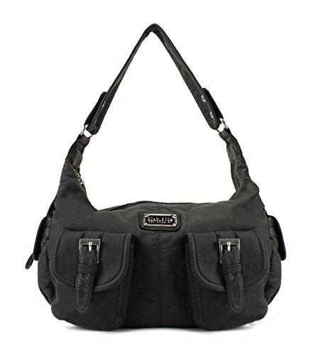 Scarleton Washed Fashion Soft Shoulder Bag H1632