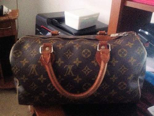 Women's Louis Vuitton Speedy 25 Bags / Handbags / Totes Monogram Canvas