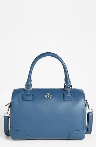Tory Burch 31139636 Robinson Middy Satchel Night Sky